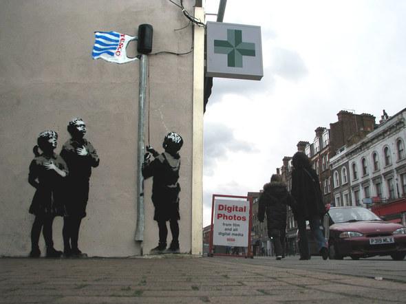Изображение 47. Banksy (уличная мышь – герой).. Изображение № 47.