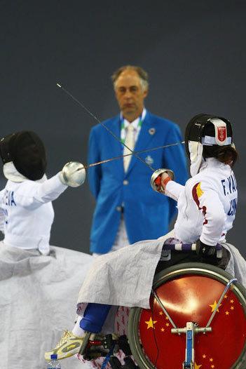Лучшие фотографии Паралимпийских игр-2008 вПекине. Изображение № 10.