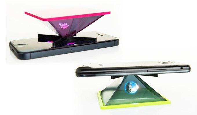На Kickstarter собирают деньги на голографический проектор для смартфонов. Изображение № 2.