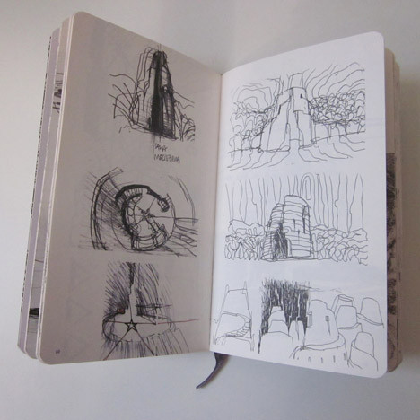 Moleskine Inspiration And Process In Architecture. Изображение № 6.