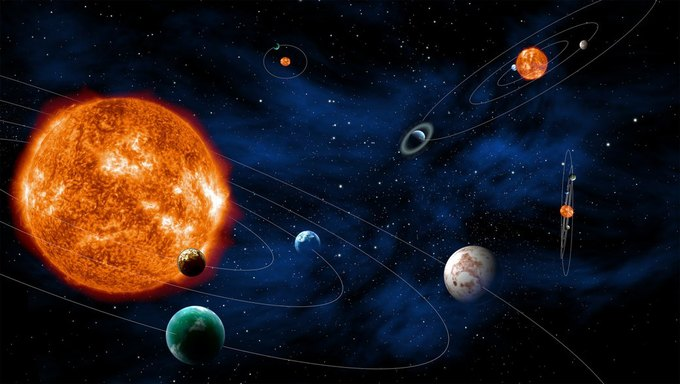 Астрономы открыли самое далекое тело Солнечной системы