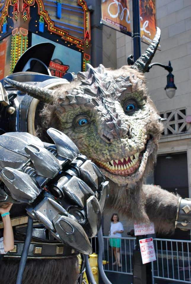 Stratasys рассказала о работе над монстром для Comic-Con . Изображение № 6.