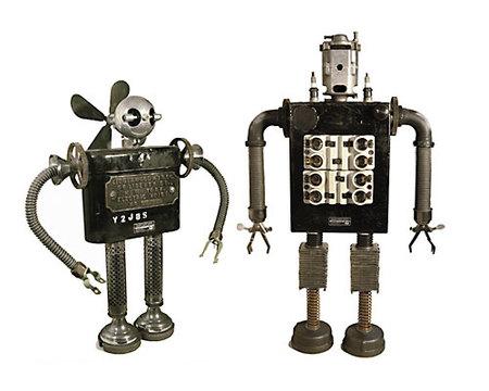 Роботы-скульптуры Gordon Bennett. Изображение № 9.