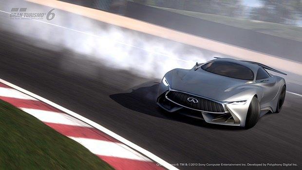 Концепт: суперкар Infiniti для игры Gran Turismo. Изображение № 39.