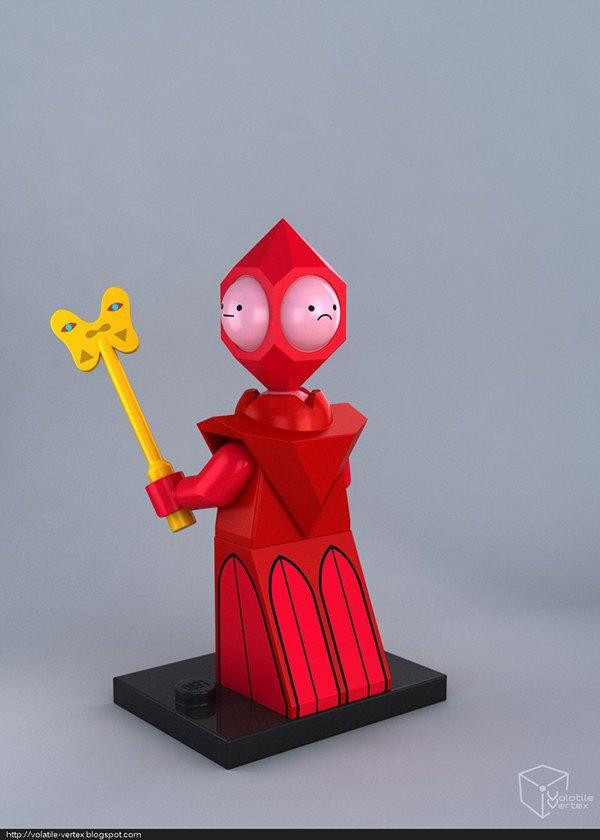 Концепт: персонажи Adventure Time в LEGO. Изображение № 18.