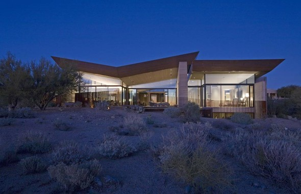 Дом Desert Wing от Brent Kendle. Изображение № 13.