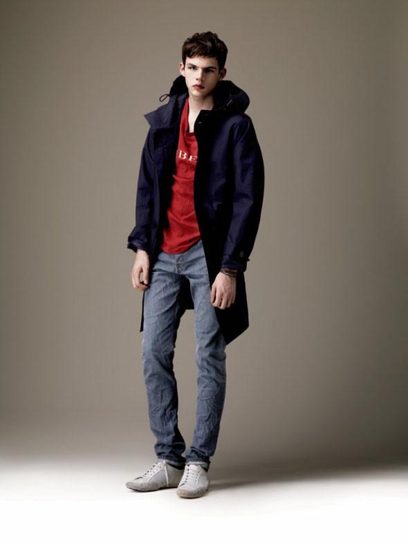 Лукбуки: Burberry, A.P.C, Zara Headband. Изображение № 1.