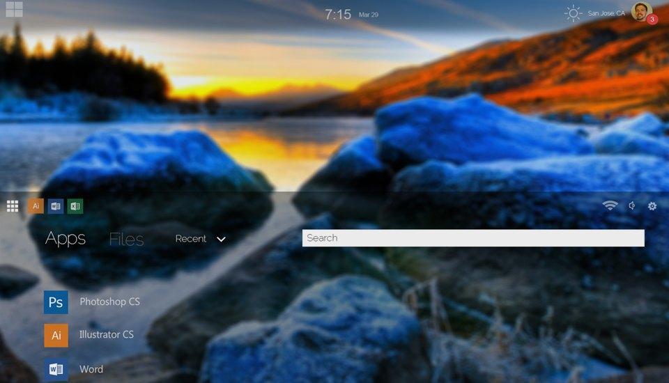 11 концептов Windows 9, которые лучше Windows 10. Изображение № 12.