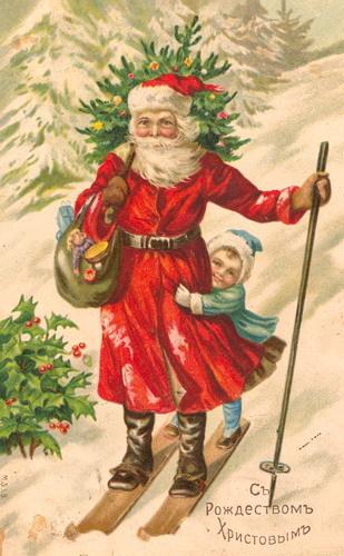 Новогодняя ирождественская открытка. Изображение № 14.