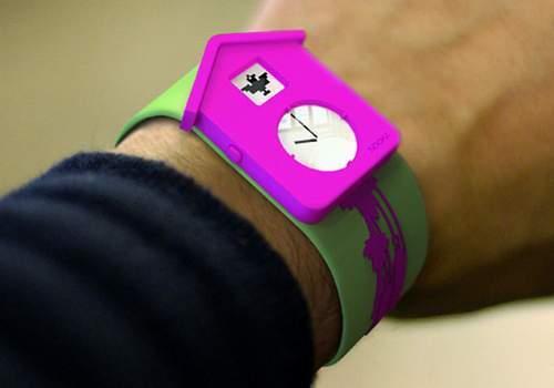 Наручные часы Nooka скукушкой. Изображение № 3.