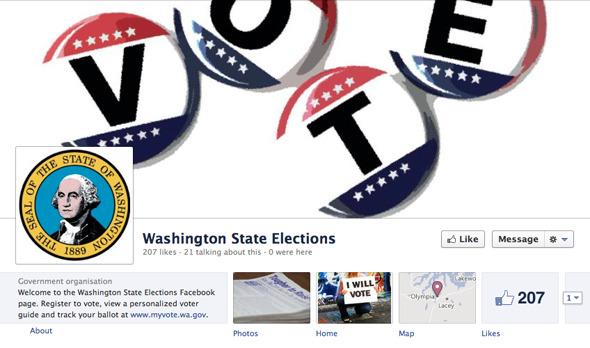 Американцы смогут регистрироваться на выборы с помощью Facebook. Изображение № 1.