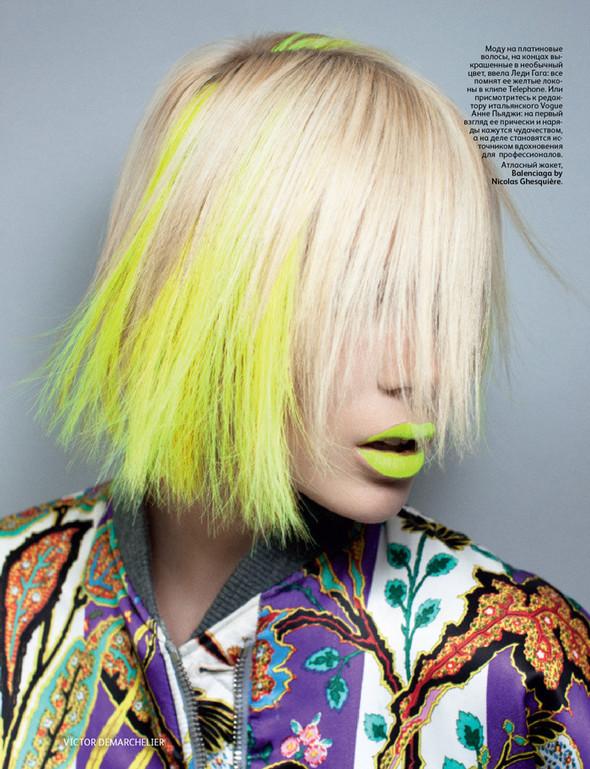 Съёмка: Виктор Демаршелье для российского Vogue. Изображение № 4.