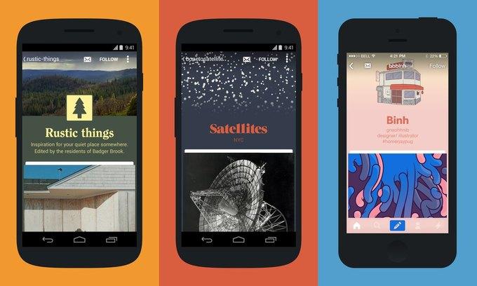 Новое приложение Tumblr покажет оригинальный дизайн тумблогов . Изображение № 1.