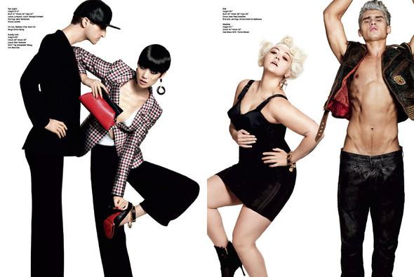 Терри Тсиолис для V Magazine #63. Изображение № 3.