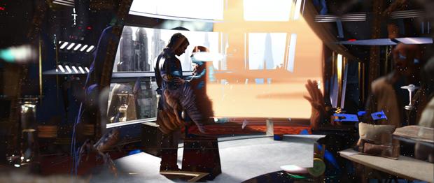 Режиссёр наложил все «Звёздные войны» друг на друга. Изображение № 14.
