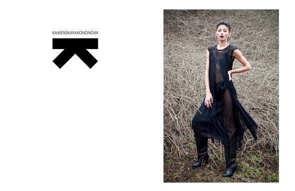 Изображение 1. Lookbook Kamenskayakononova f/w 2011/2012.. Изображение № 1.