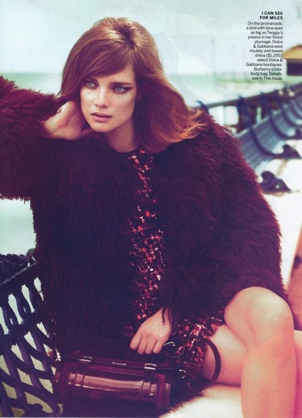 Съёмка: Наталья Водянова для Vogue. Изображение № 9.