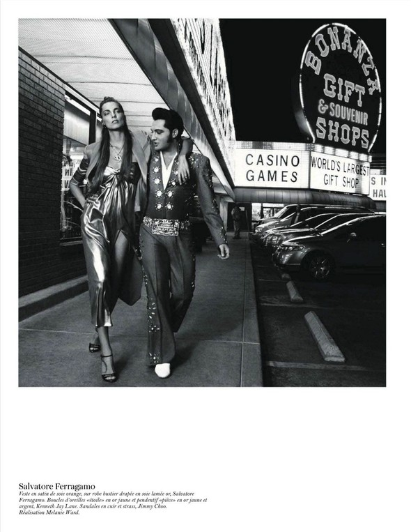 Съёмка: Дарья Вербова для французского Vogue. Изображение № 33.