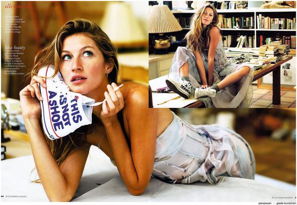 Прекрасная Жизель вжурнале Elle. Изображение № 2.