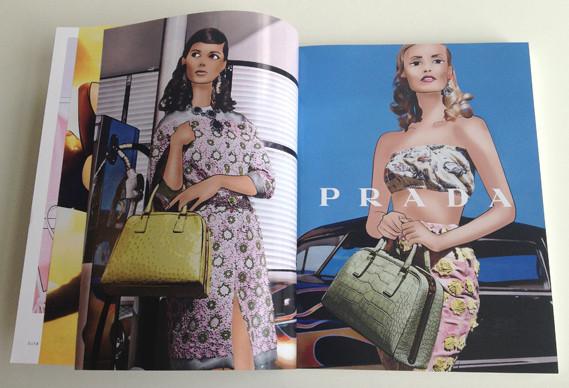 Журнал о моде Herself: только иллюстрации и никаких фотографий. Изображение № 3.
