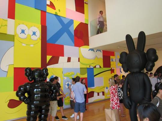 Выставка художника и дизайнера KAWS. Изображение № 2.