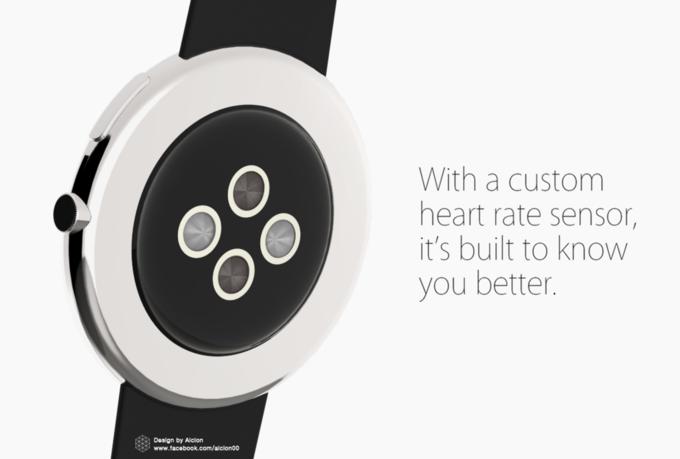 Концепт дня: круглые Apple Watch. Изображение № 7.