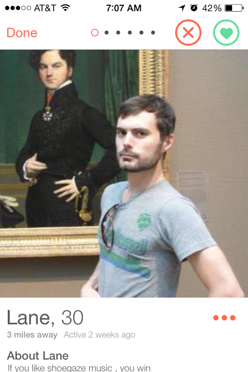 Тест дня: на фоне какого искусства фотографируются мужчины из Tinder. Изображение № 7.