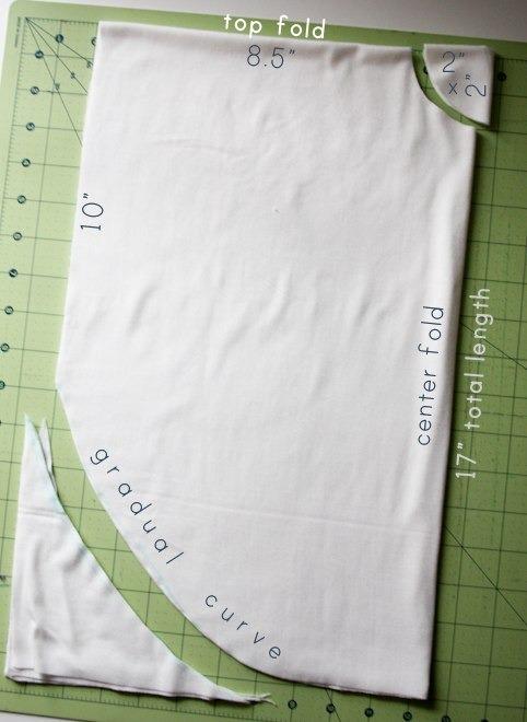 """Как сделать """"Круглую"""" футболку. Изображение № 2."""