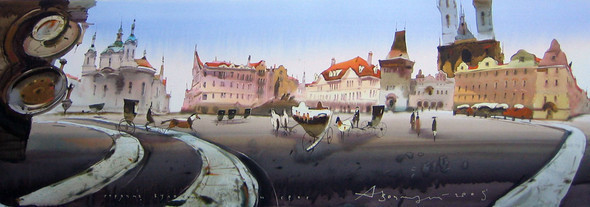 Акварели Аруша Воцмуша. Изображение № 11.