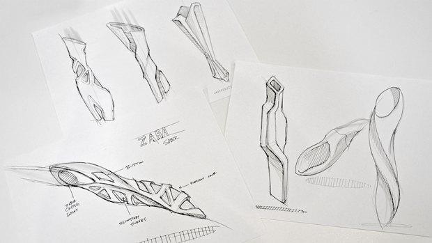 Рукоятка меча в стиле Захи Хадид. Изображение № 3.