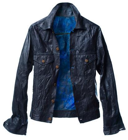 Процесс BioCouture может повторять привычные нам цвета и текстуры — например, джинсовую ткань. Изображение № 35.