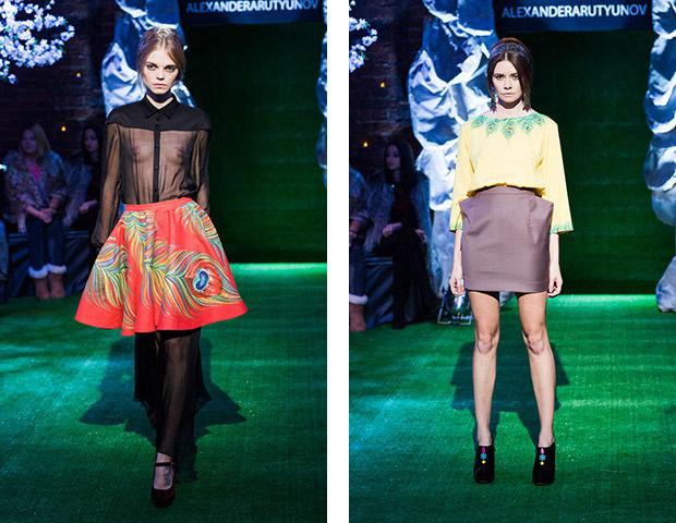 Мужские юбки и павлины: Alexander Arutyunov SS 2013. Изображение № 15.