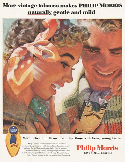 Винтажная реклама табака. Изображение № 3.