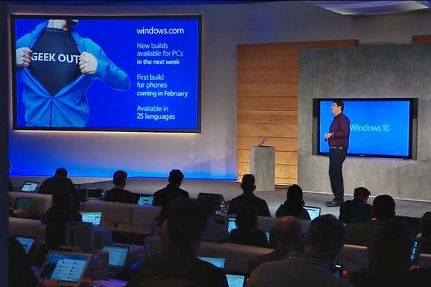 Обновлённая версия Windows 10 выйдет через неделю. Изображение № 1.