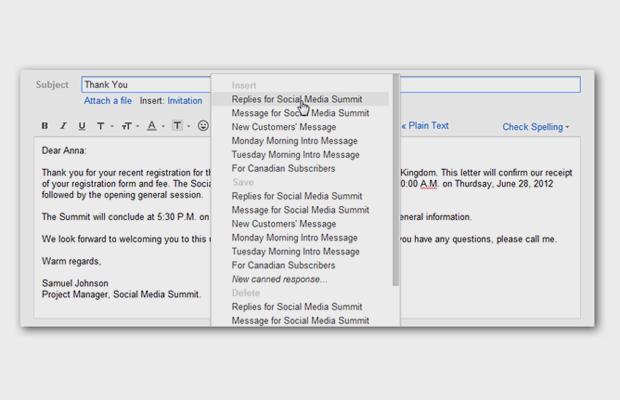 10 советов для тех,  кто пользуется Gmail. Изображение № 5.