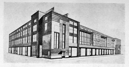 Архитектурные конкурсы 1923–1926 г.вСССР. Изображение № 9.