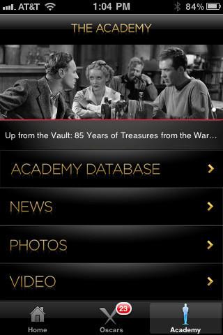Изображение 1. Кинопремия Оскар 2011 и ваш собственный фильм эксклюзивно на экранах iPhone.. Изображение № 1.