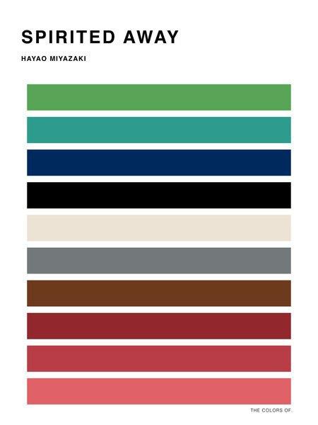 Дизайнер выбрал цвета из фильмов Миядзаки и Disney. Изображение № 5.