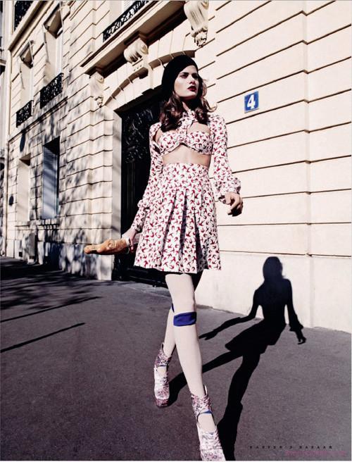 """""""Французский шик"""" для Harpers Bazaar. Изображение № 4."""