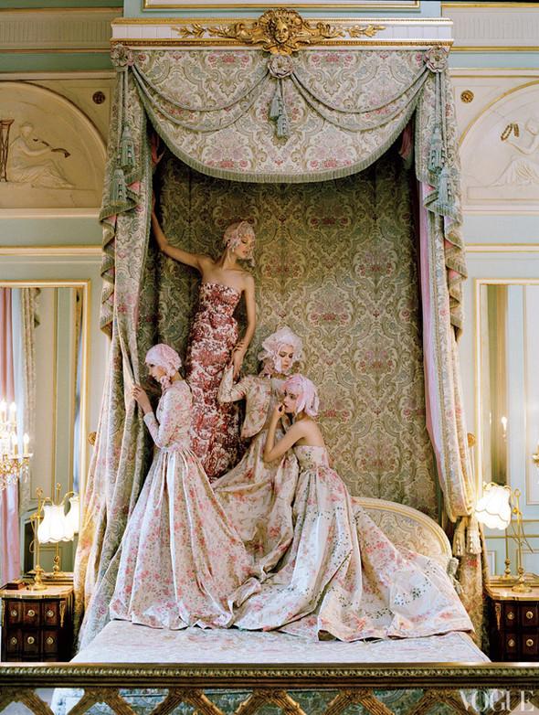 Кейт Мосс в апрельском Vogue US. Изображение № 9.