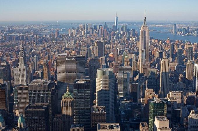 Фото дня: вид с самого высокого жилого здания Нью-Йорка. Изображение № 2.