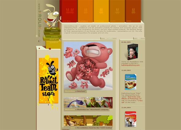 Персонажи в дизайне сайтов. Изображение № 6.