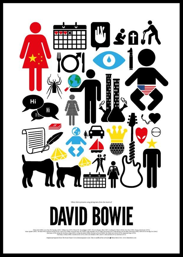 Песни икон рок-музыки изображены в виде пиктограмм. Изображение № 4.