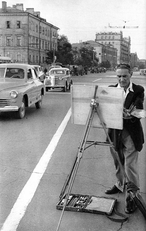 Советская Москва глазами Анри Картье-Брессона. Изображение № 26.