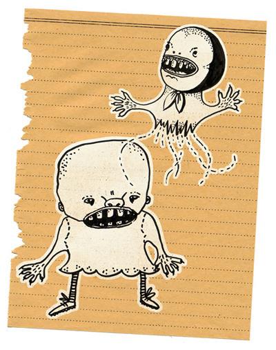 Милые уродцы виллюстрациях Sandra Juto. Изображение № 13.