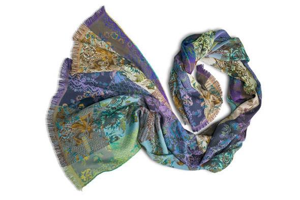 Изображение 2. Kenzo выпускают юбилейную коллекцию шарфов.. Изображение № 5.
