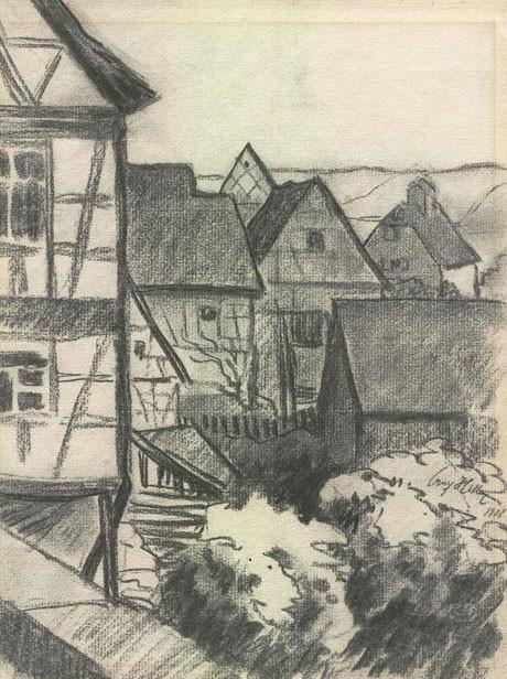 Наброски Адольфа Гитлера были проданы на аукционе. Изображение № 8.