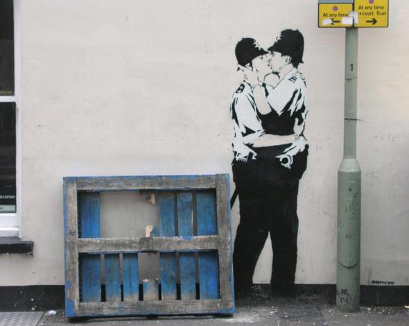 Изображение 25. Banksy (уличная мышь – герой).. Изображение № 25.