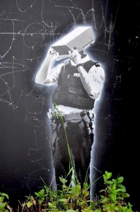 Изображение 25. Бристоль. Художественное граффити.. Изображение № 27.