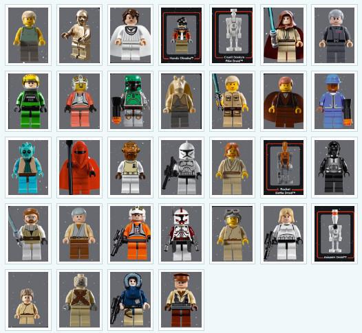 День Звездных Войн. Всеперсонажи Звездных войн отLego. Изображение № 2.